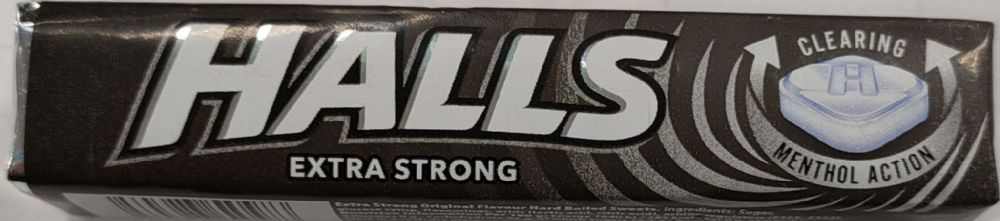 Halls Extra Strong 9s